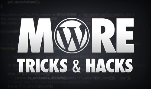 more-wordpress-tricks